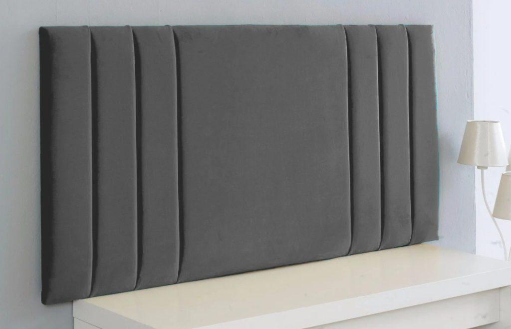 """4ft 3ft 5ft Bed Headboard Chenille Rio 50/"""" Floor Standing 2ft6 6ft 4ft6"""
